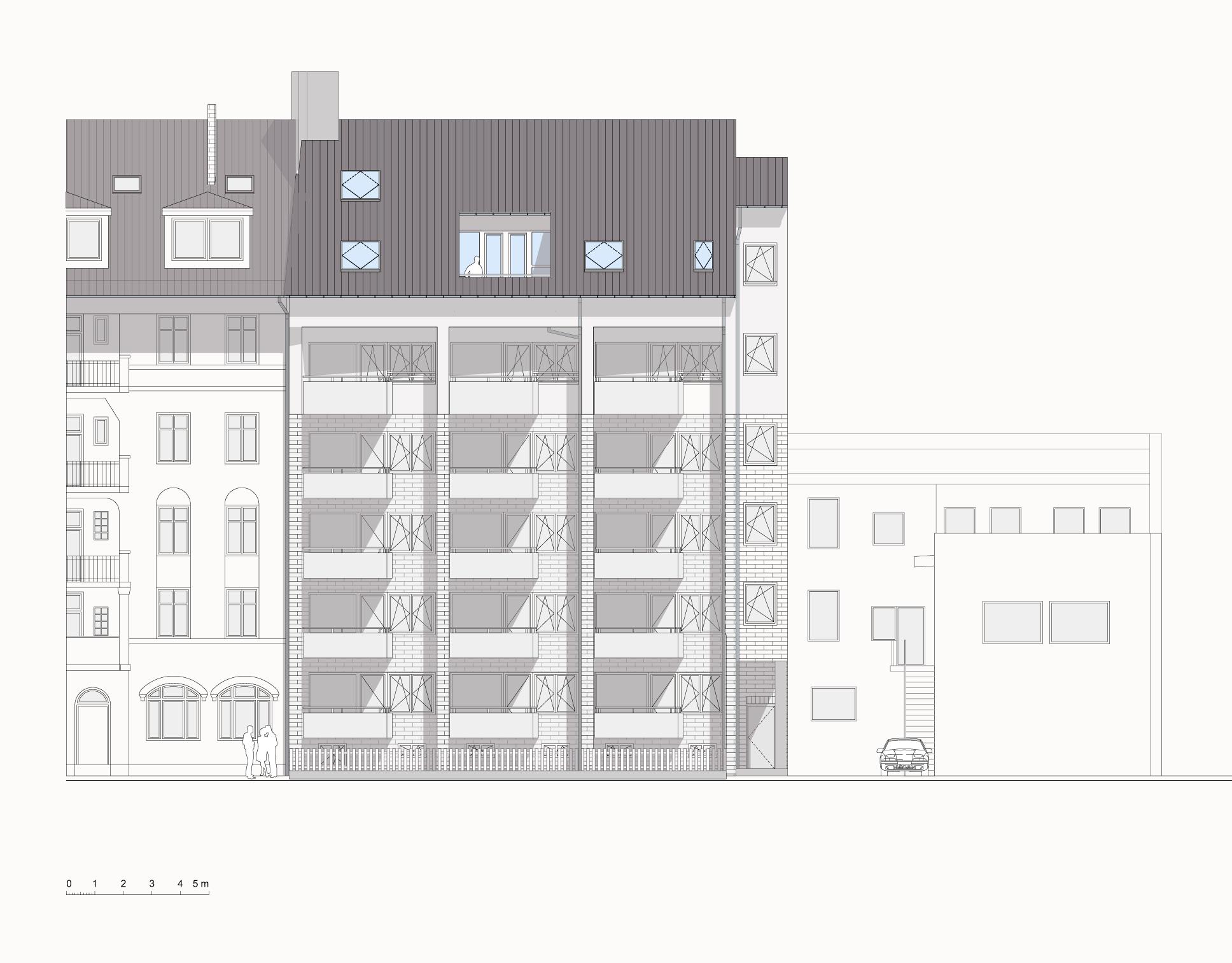 Architektur Ansicht bosse westphal schäffer architekten sachverständige