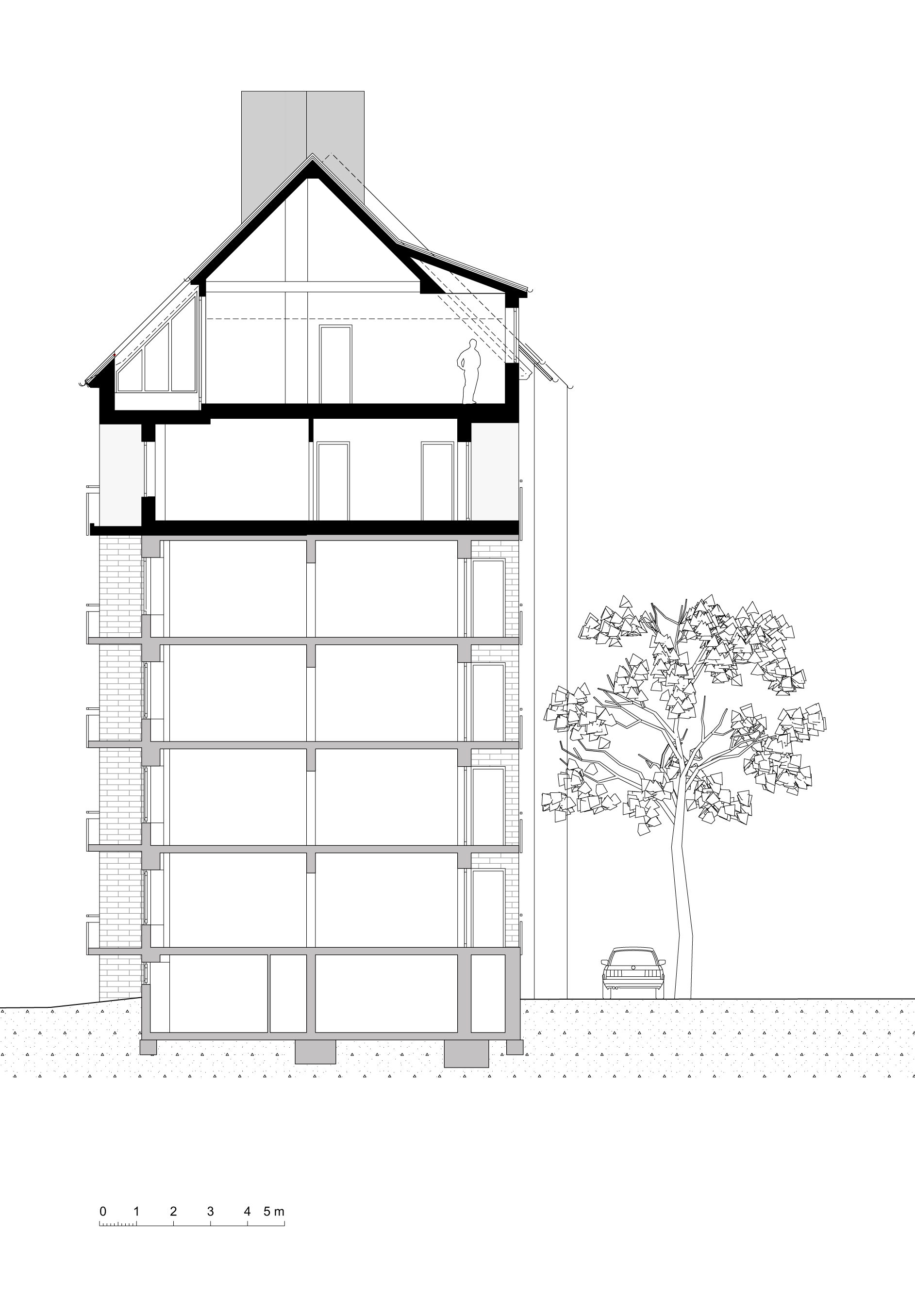 schnitt zeichnen architektur damit knnen nun auch die genutzt werden schnitt zeichnen. Black Bedroom Furniture Sets. Home Design Ideas